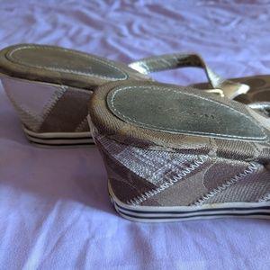 Coach Shoes - Adorable 😍 Coach wedge shoes 7.5